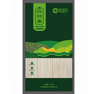 400g百合面绿袋